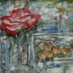 Blattner-Marie-Rose-Amours-en-cage-acrylique-61x50