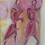 Blattner-Marie-Rose-Danseurs-acrylique-44x37