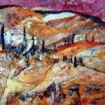 Blattner-Marie-Rose-Toscane-huile-55x38