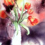 Heme-Marie-Anne-Tulipes-40x50